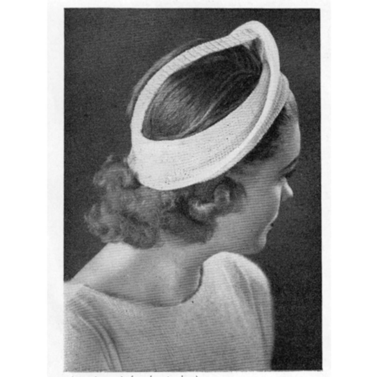 Crocheted Open Crown Hat Pattern