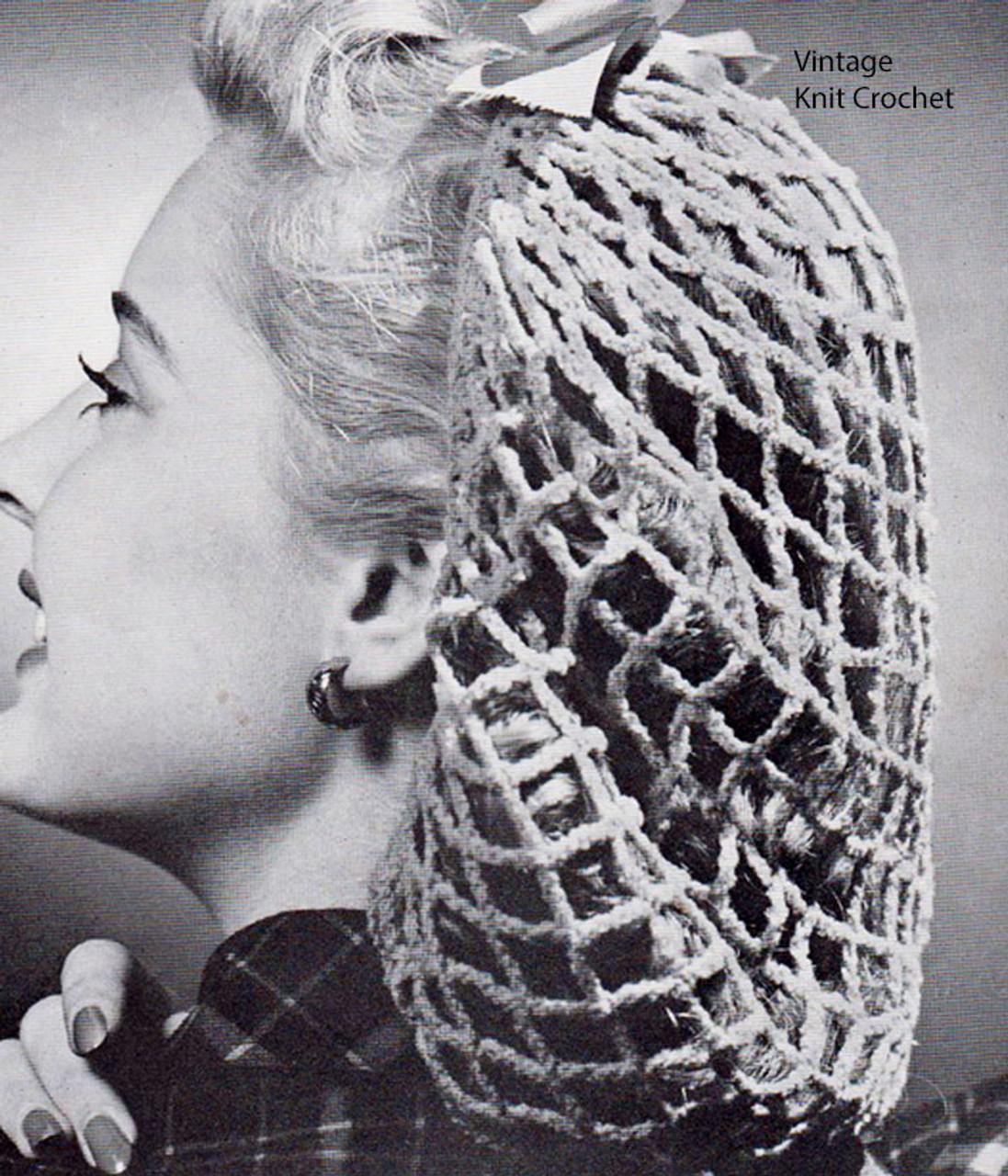 Full Snood Hat Crochet Pattern