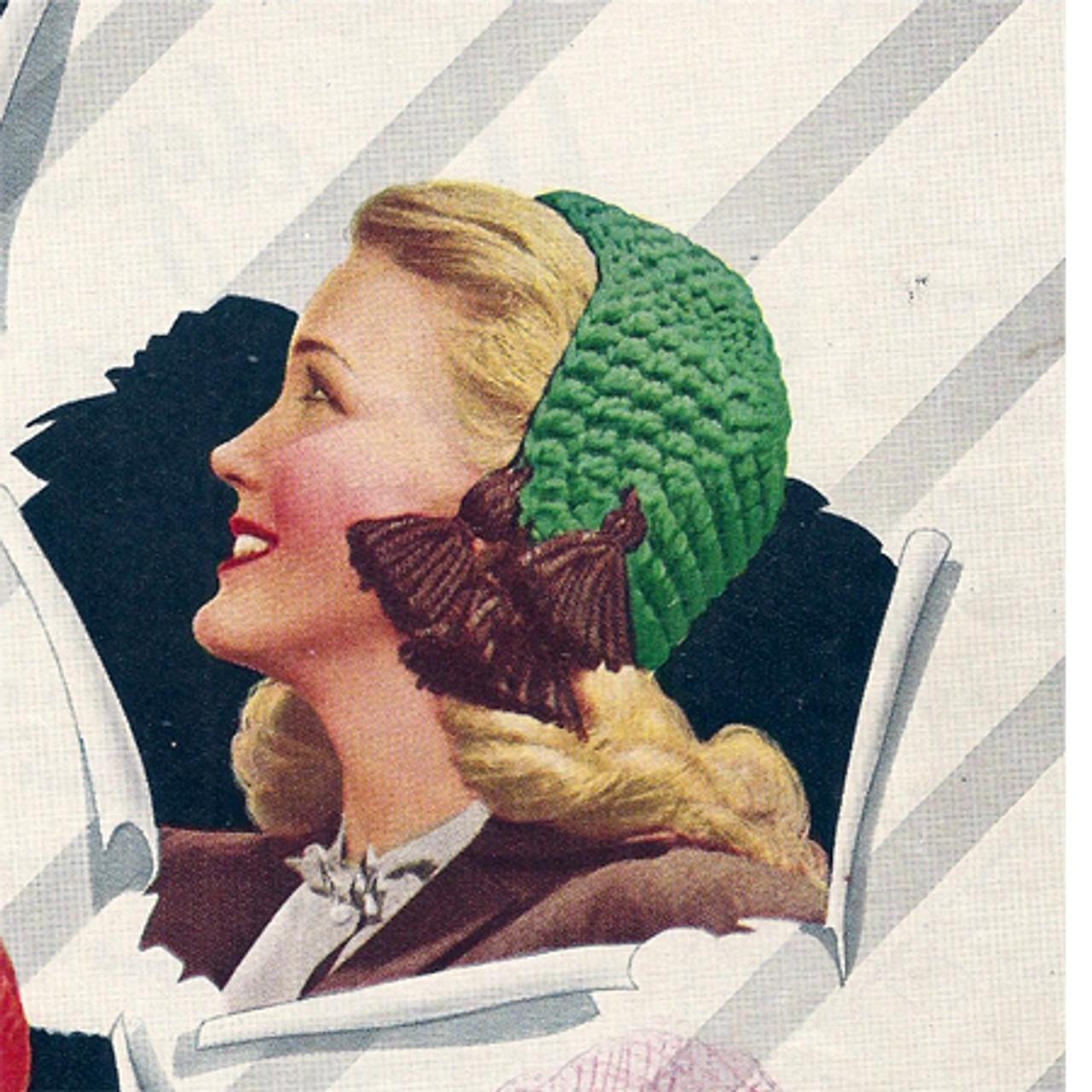 Womans Crochet Baby Cap Pattern