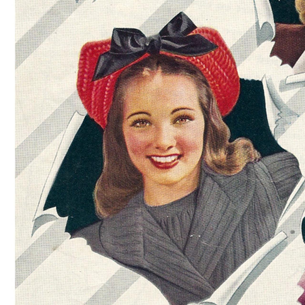 Crochet Square Brimmed Hat Pattern