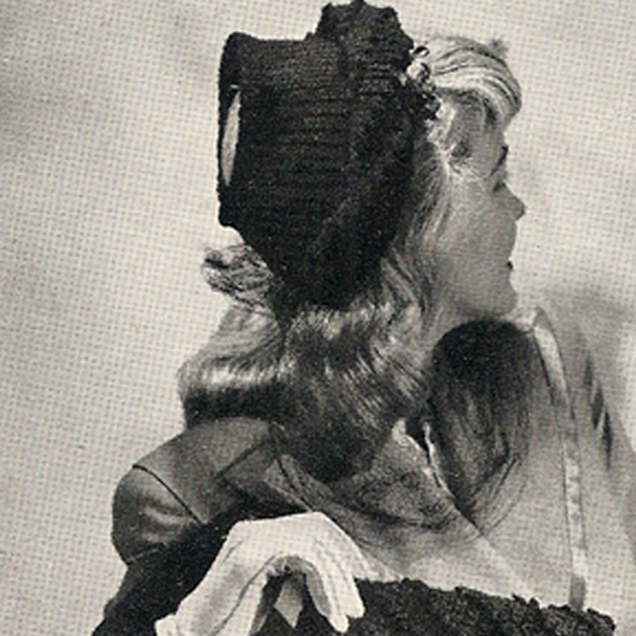Vintage Crocheted Hat Pattern with Open Crown