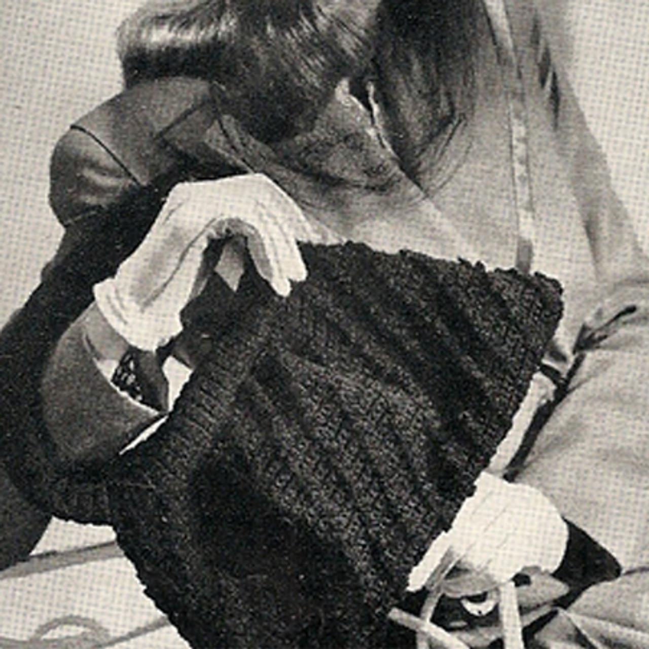 Vintage Crocheted Purse Pattern