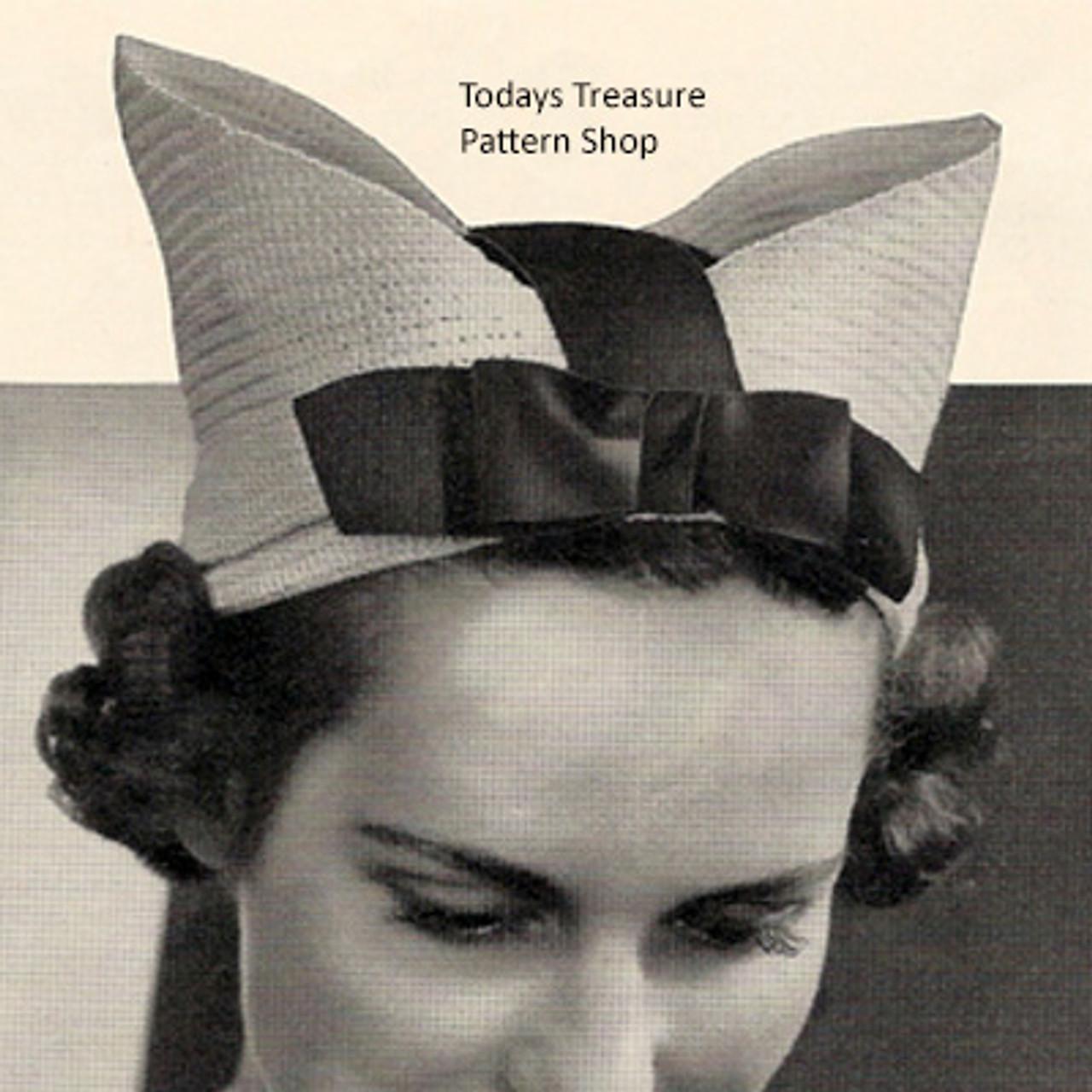 Vintage Crochet Nurse Hat Pattern