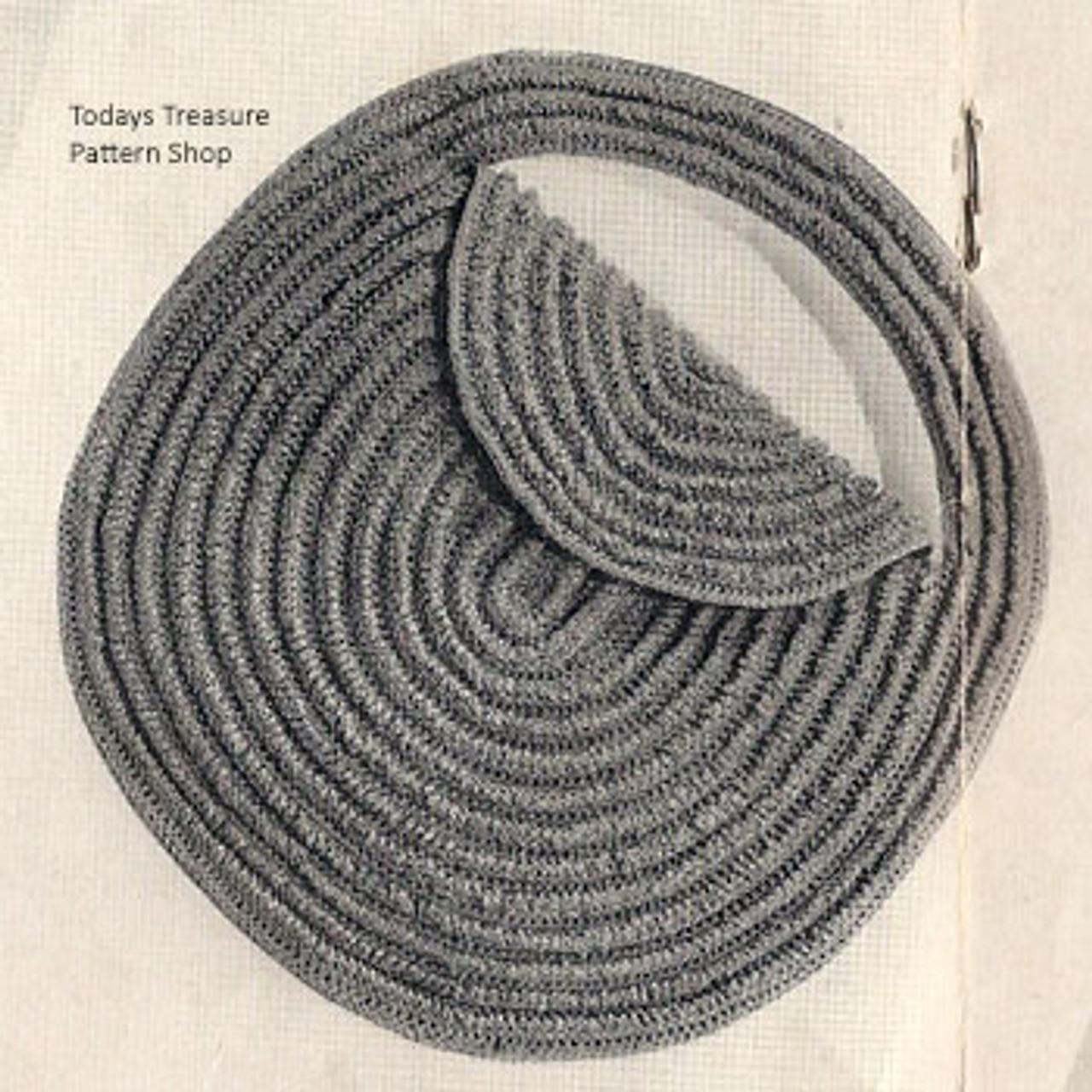 Small Crochet Rounded Handbag Pattern