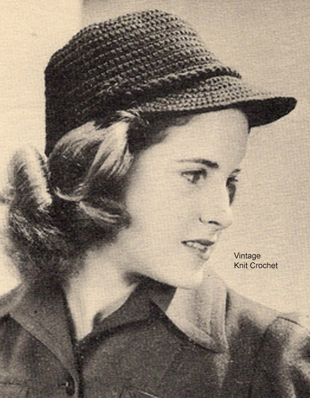 Brimmed Hat Crochet Pattern