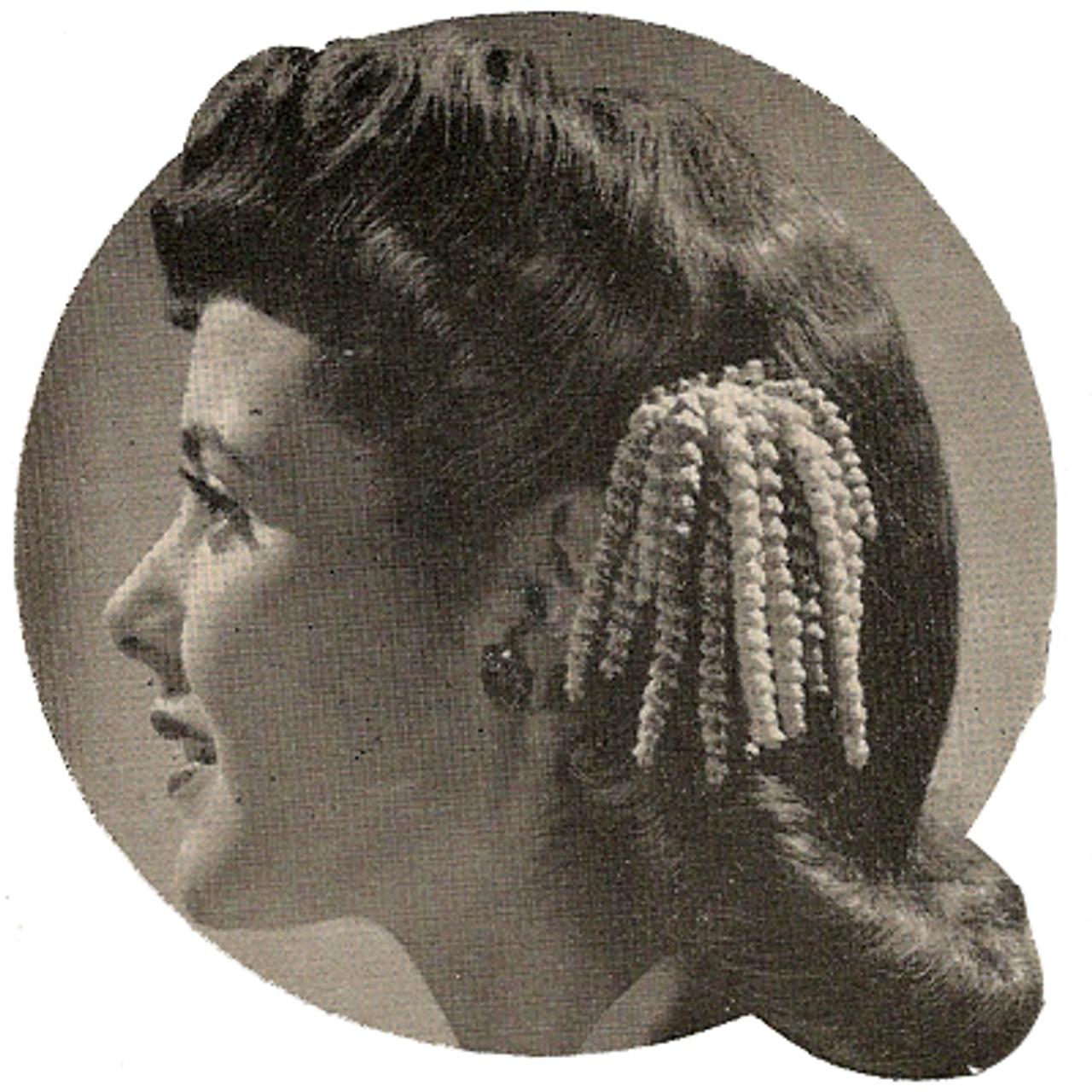 Crochet Hair Tassels Pattern.