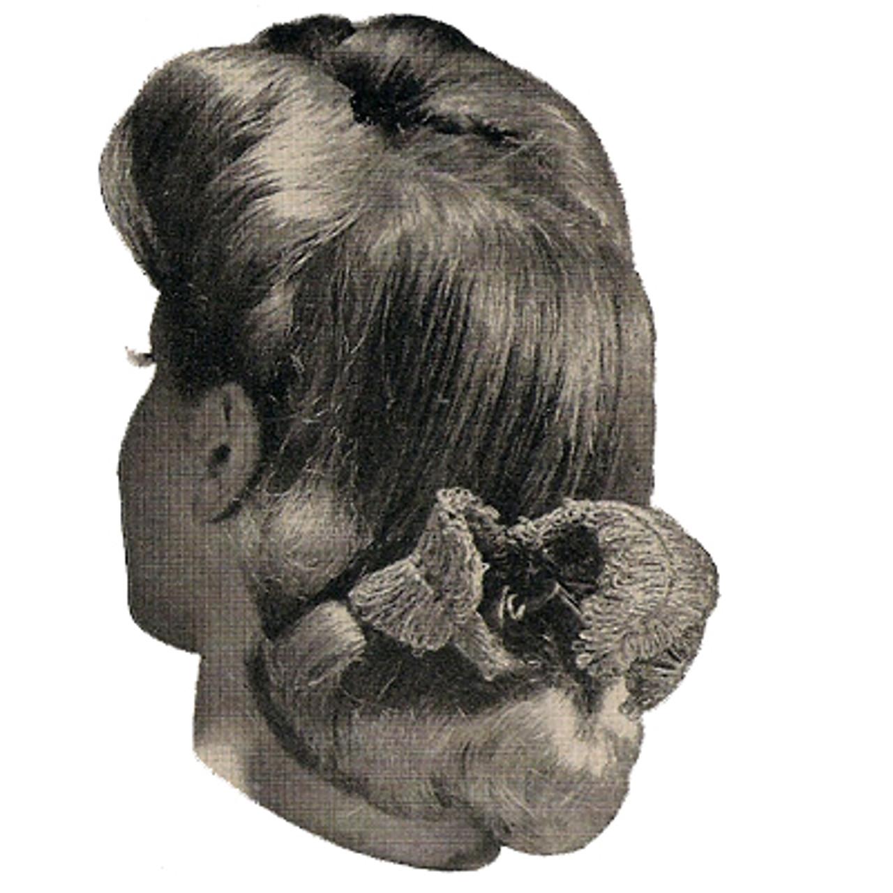 Crochet Hair Bow Pattern
