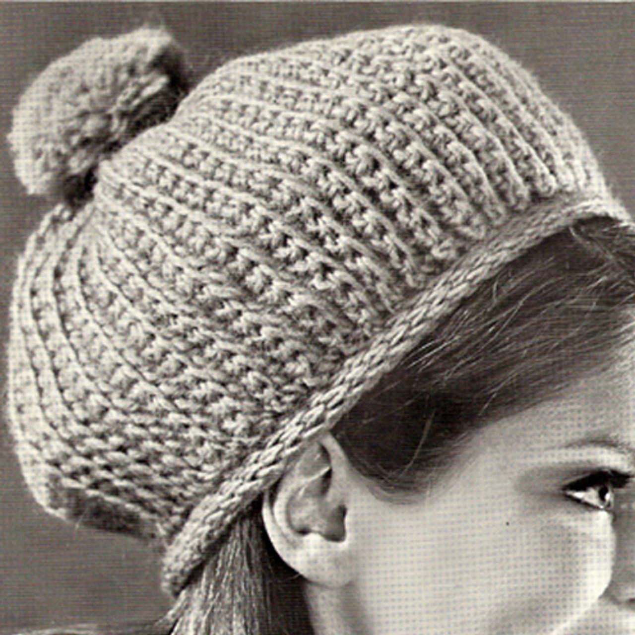 Tall Crochet Beanie Pattern