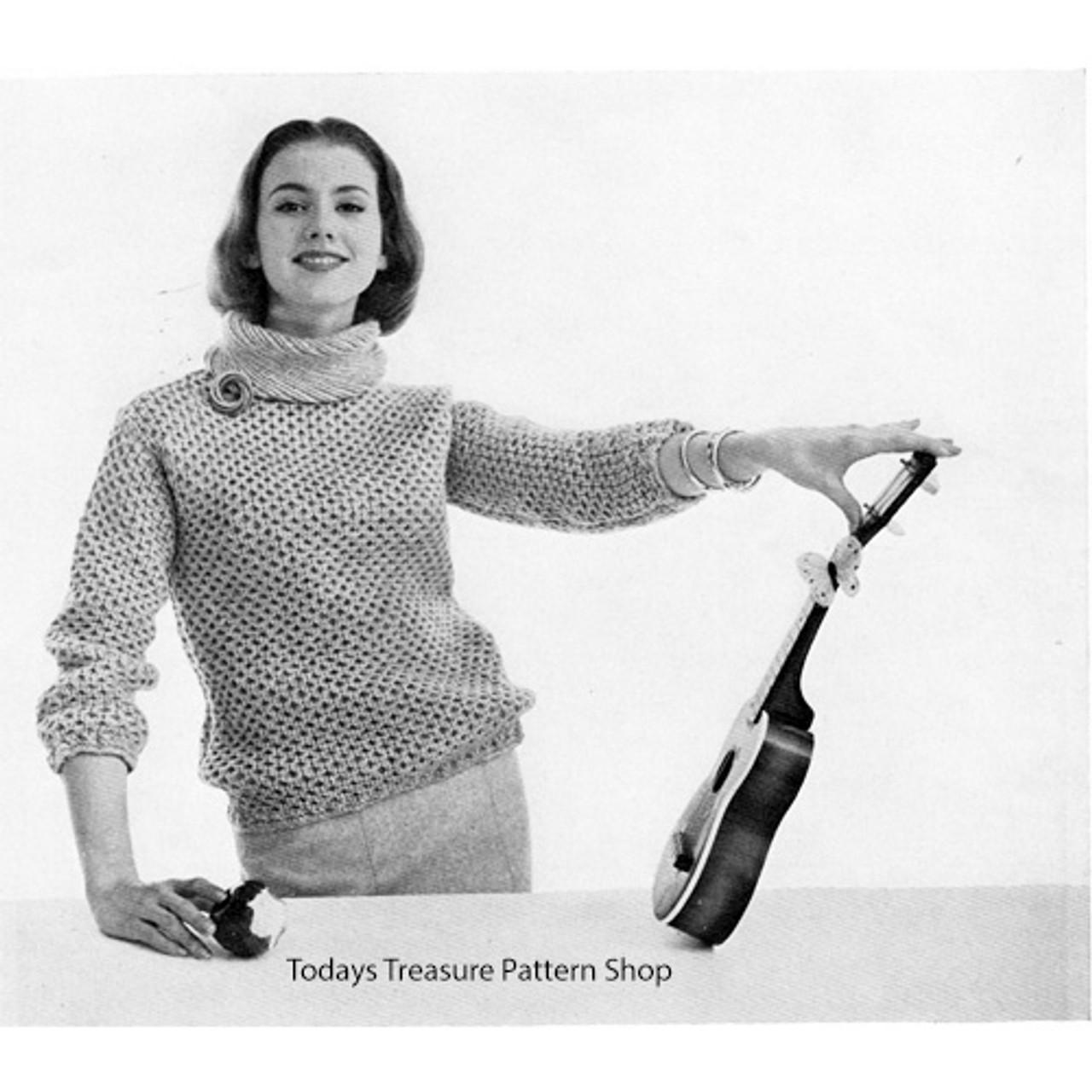 Knitting Pattern Honeycomb Pullover Pattern