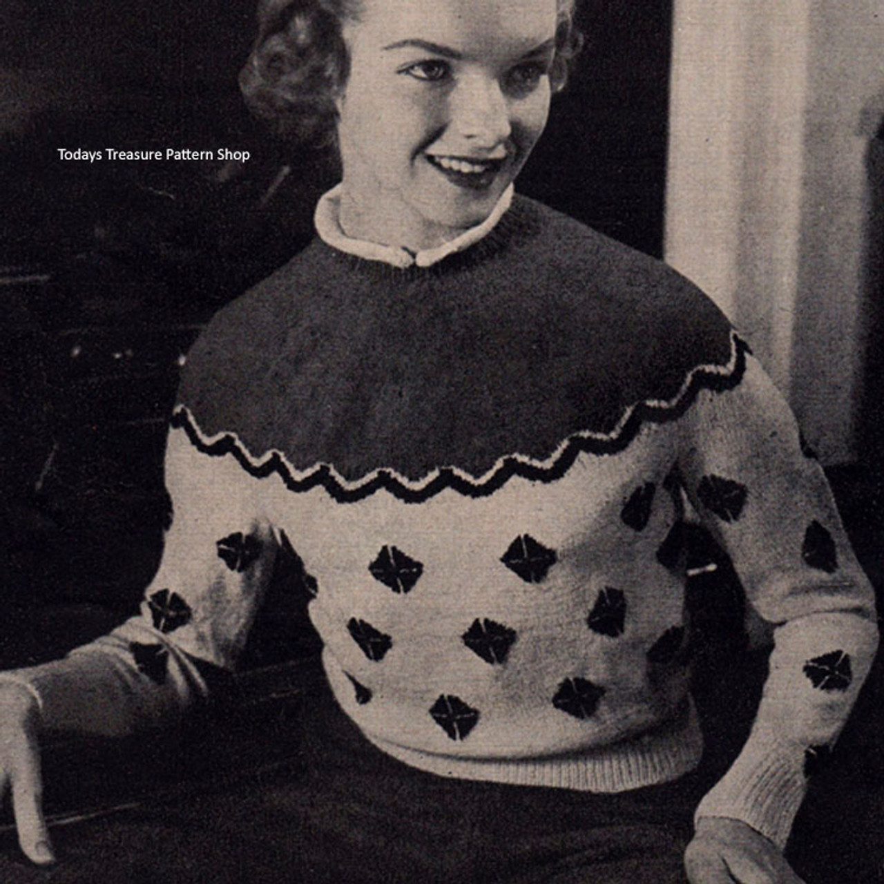 Knitted Saxatones Pullover Pattern