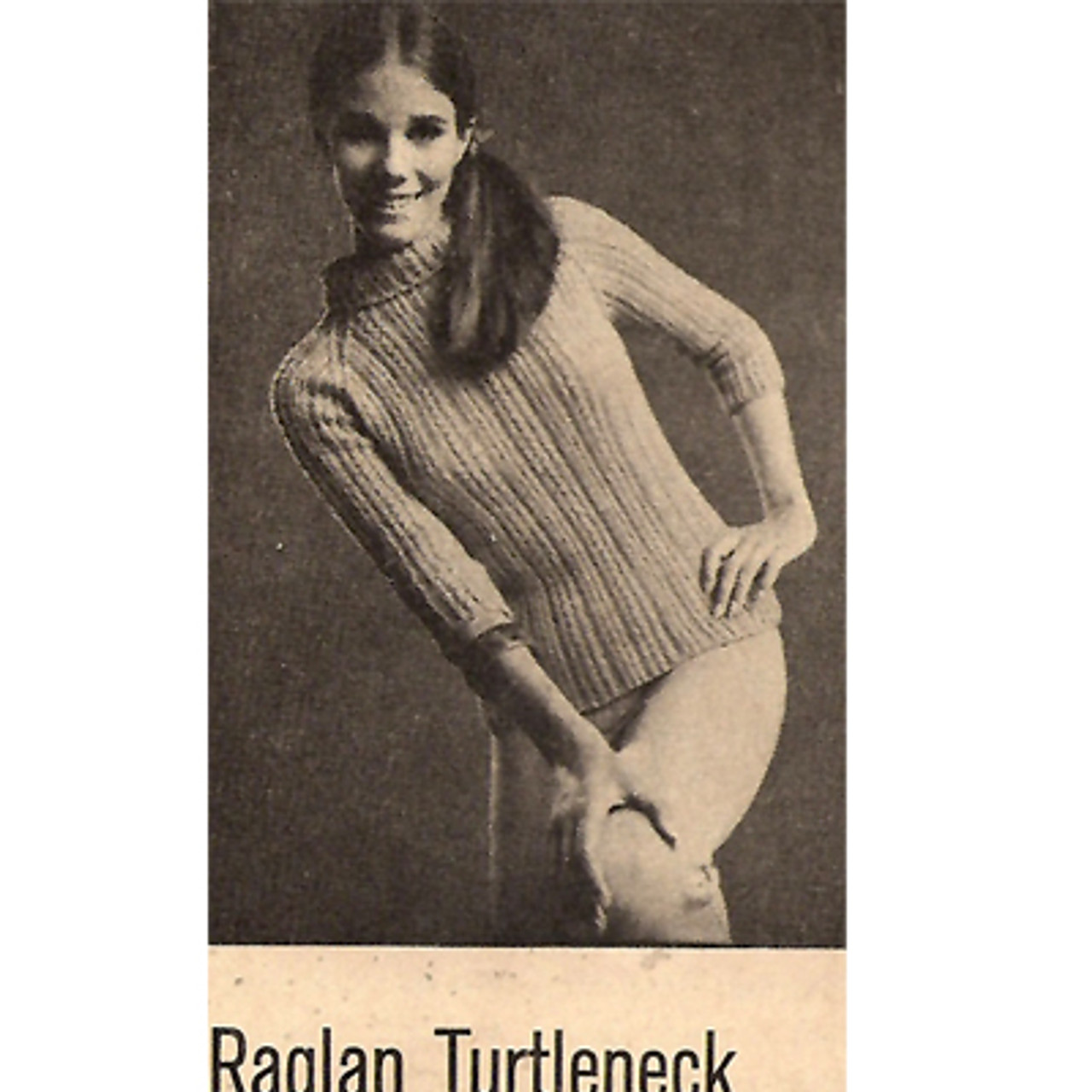 Vintage Half Sleeves Pullover in Reynolds Classique