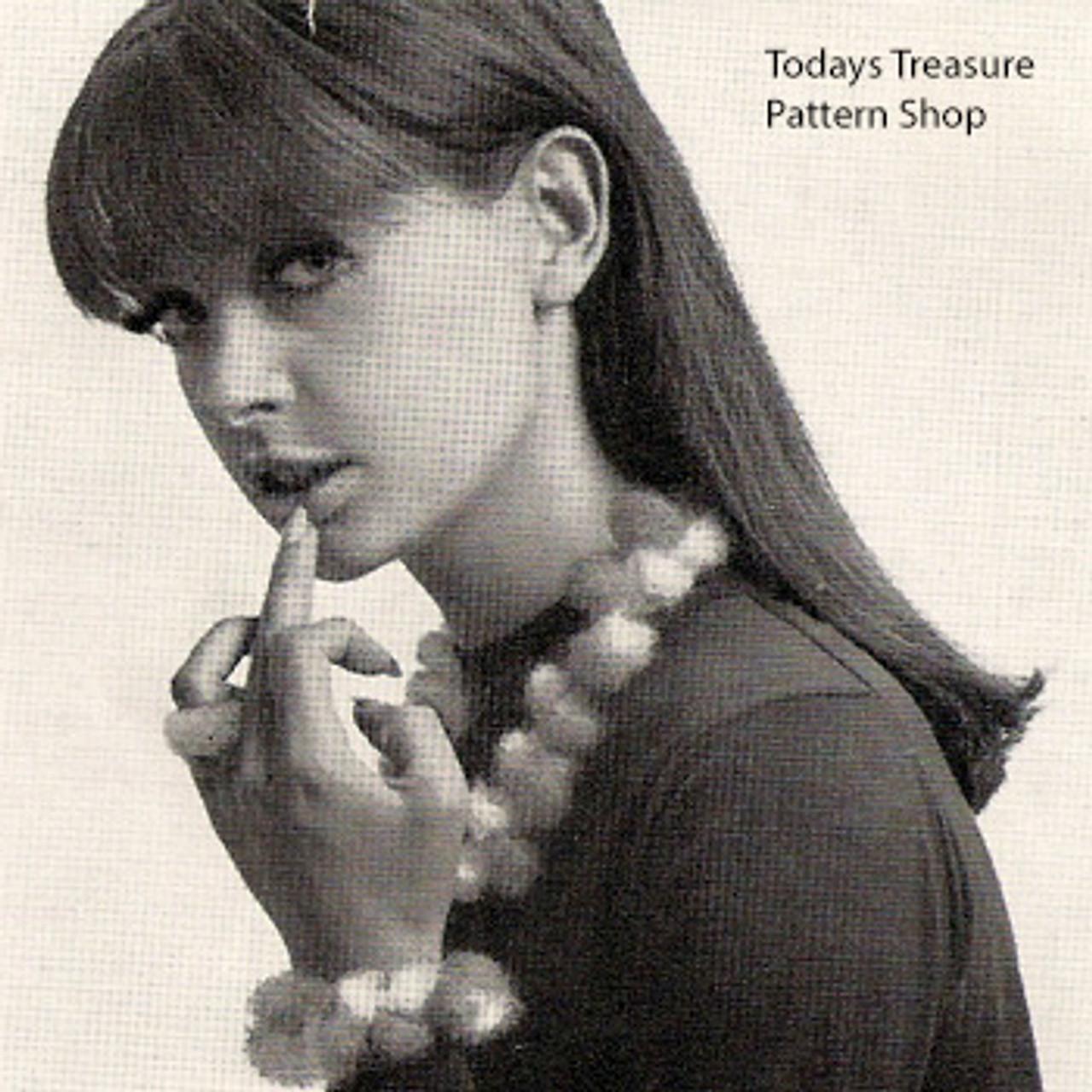 Vintage Crochet Necklace Bracelet Pattern