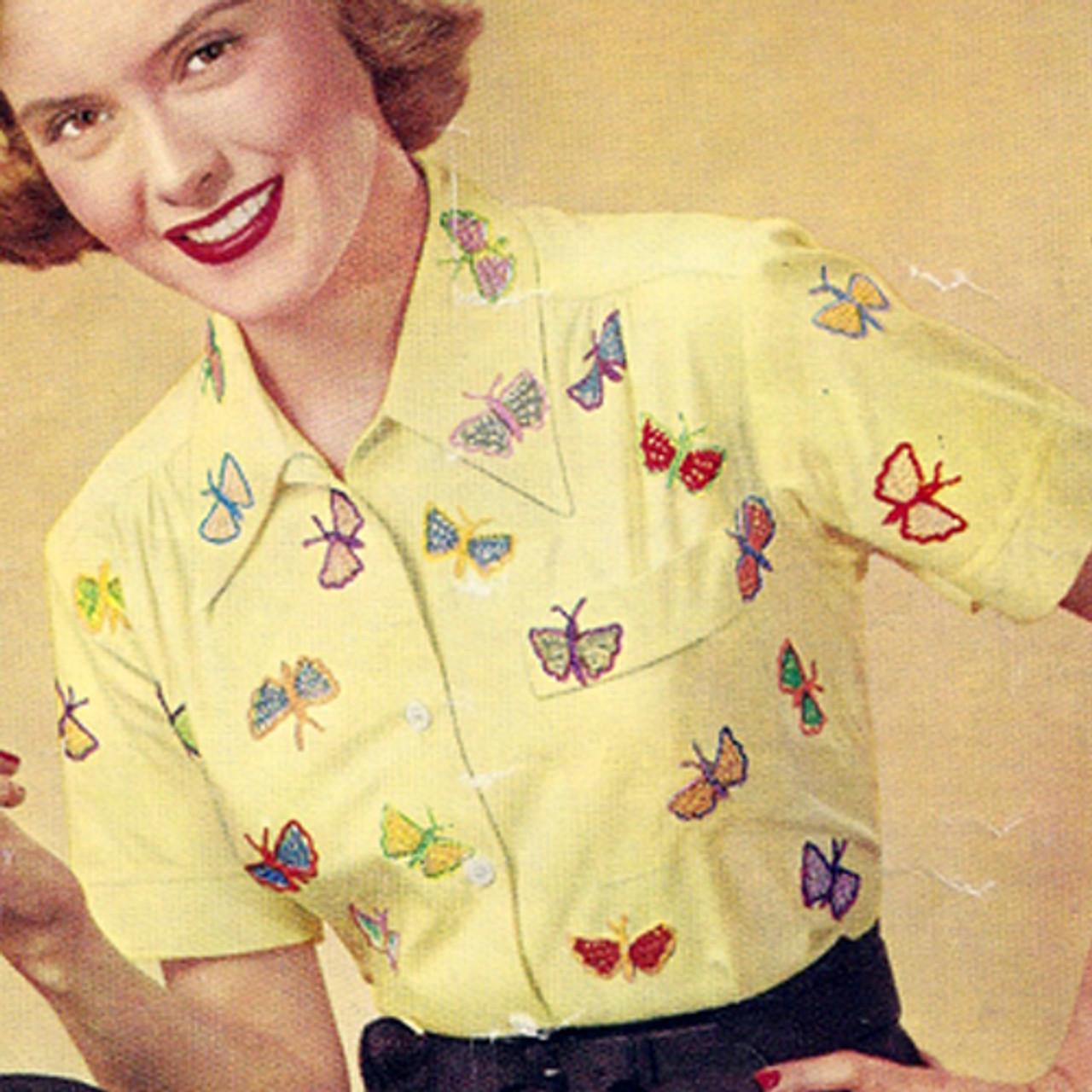 Free Butterfly Crochet Applique Pattern