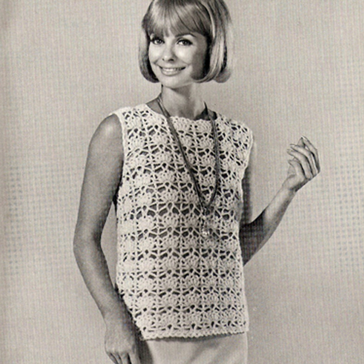 Crochet Shell Top Pattern, Vintage Coats & Clarks