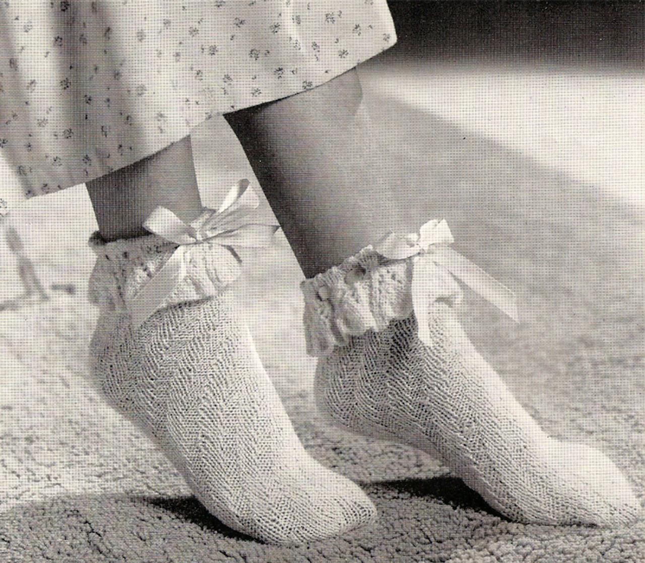 Soft Bed Socks Knitting Pattern