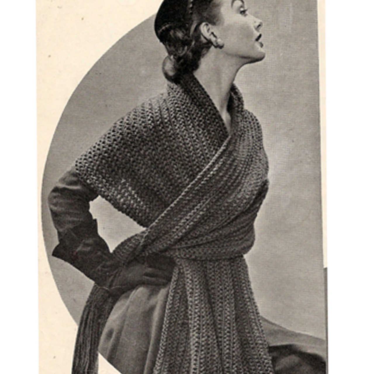 Beginners Knitting Pattern for Long Stole