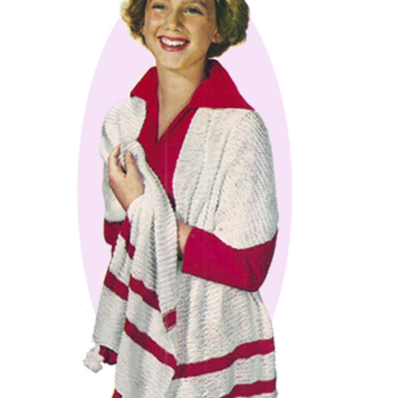 Vintage Stole, Free Knitting Pattern
