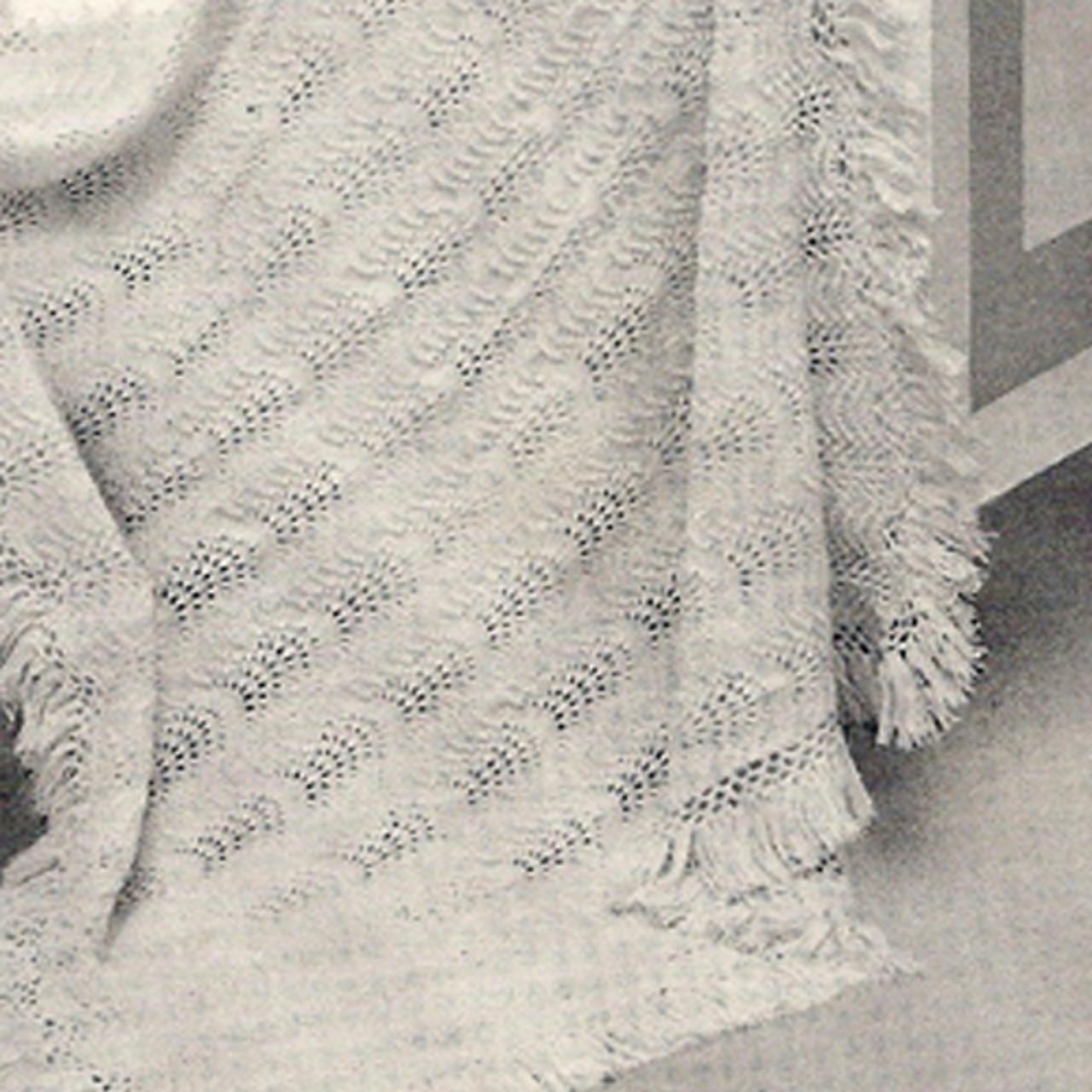 Knitting Pattern, Baby Blanket in Fingering Yarn
