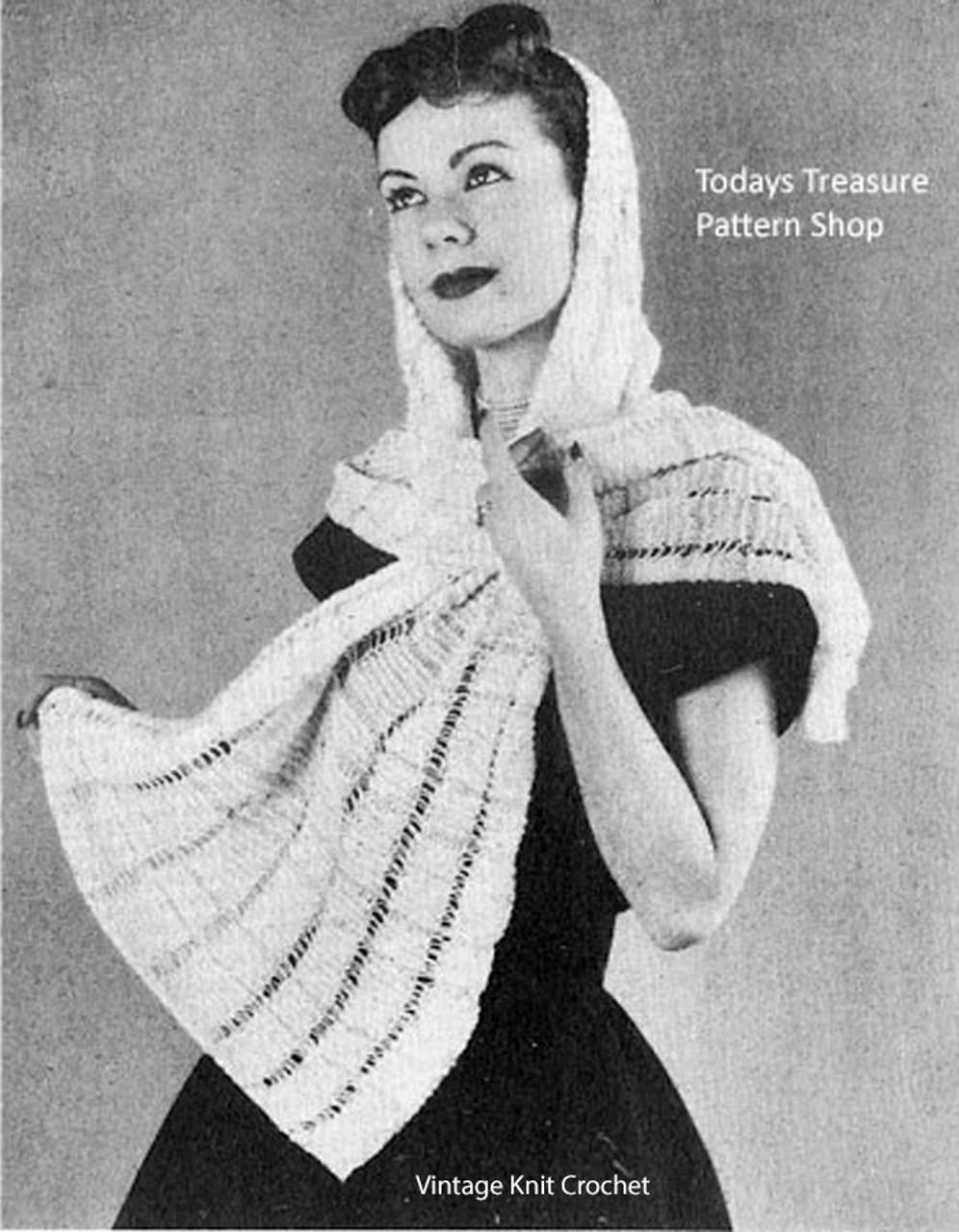 Free Knitted Shawl Pattern