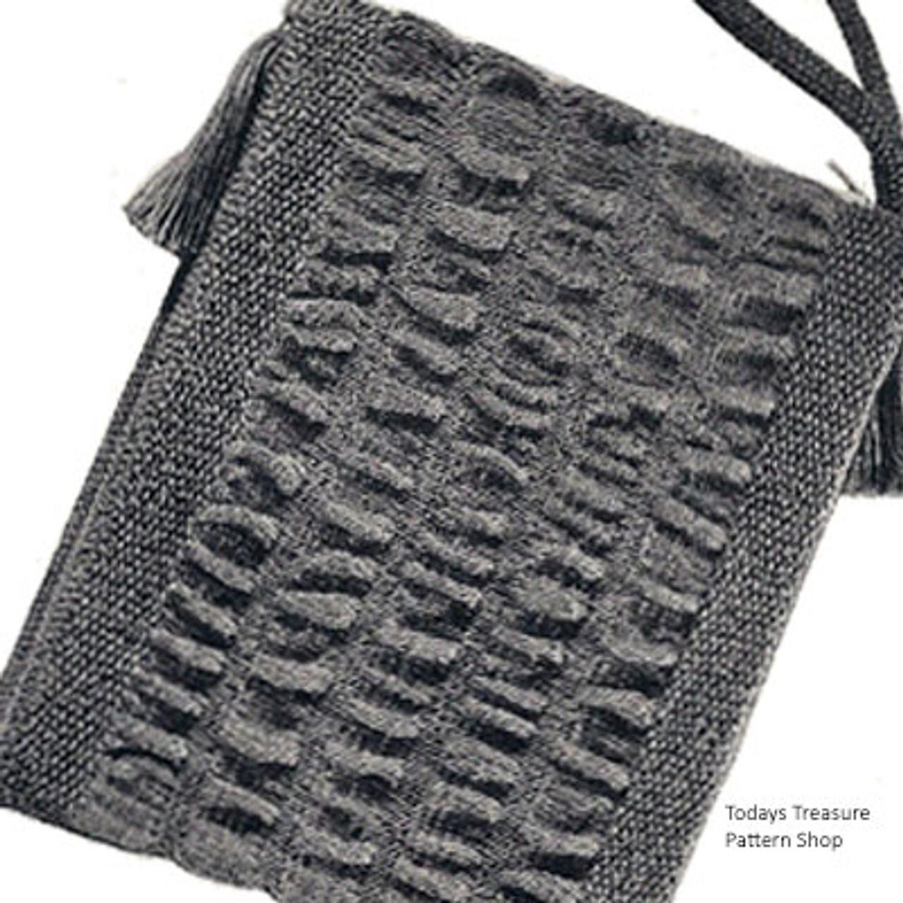 Mini-Bag, Free Knitting Pattern