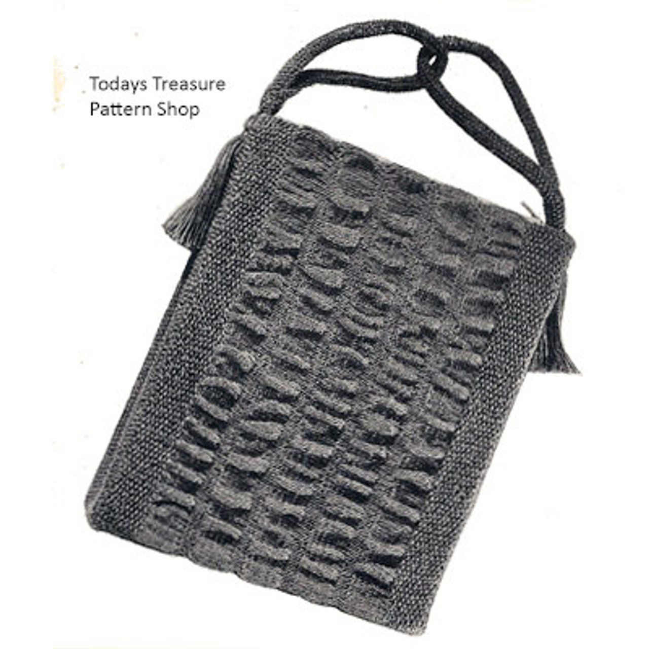Free Knitted Pouch Pattern
