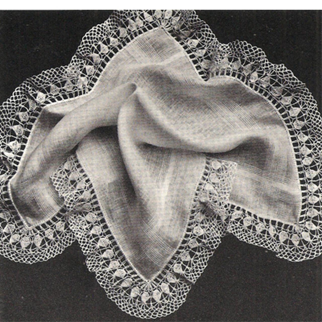 Free Crochet Edging Pattern, Rose Petals