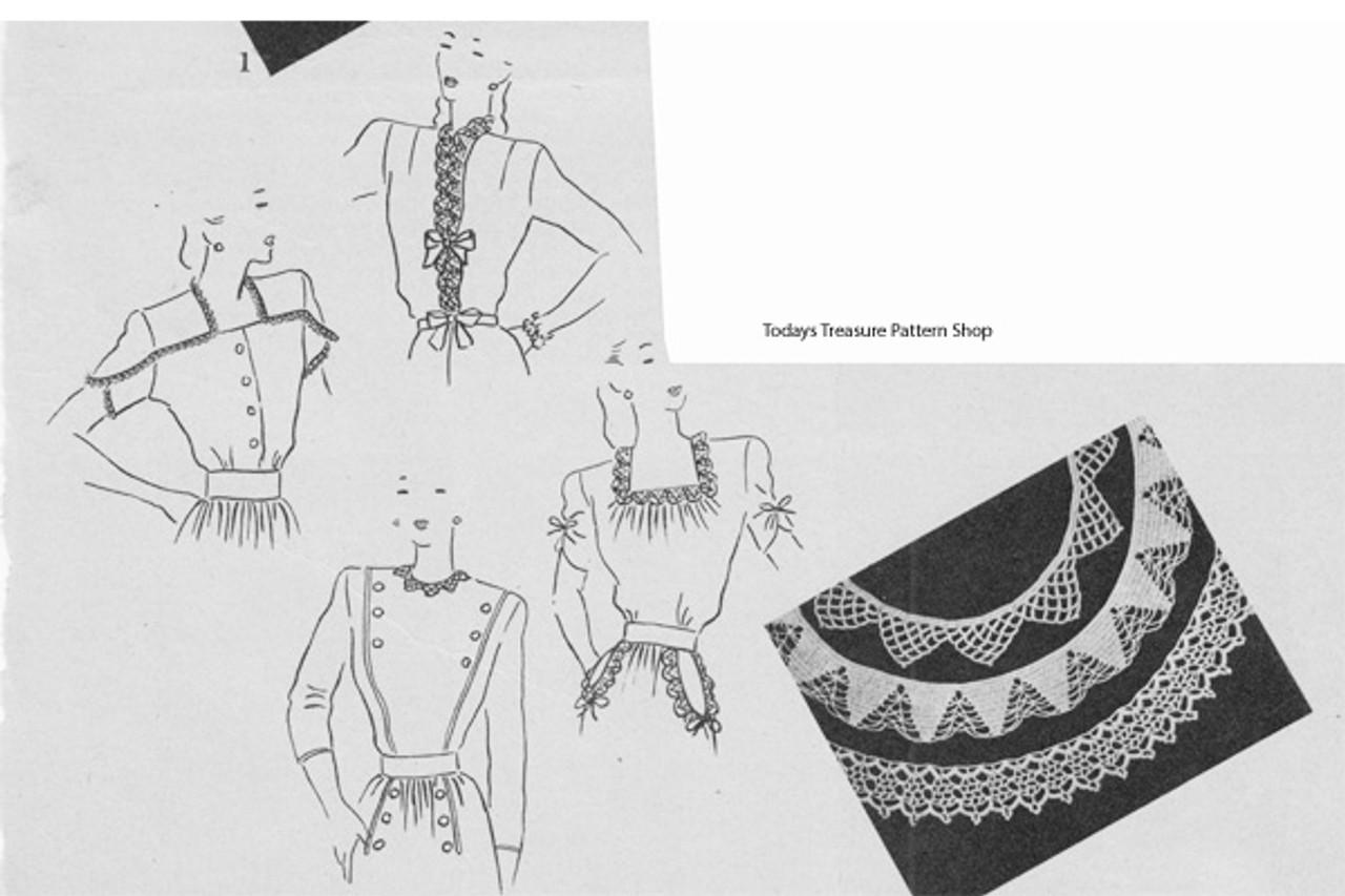 Free Crochet Edgings Pattern