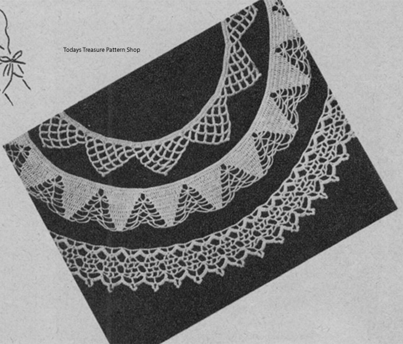 Crochet Trim Edgings, Free Pattern