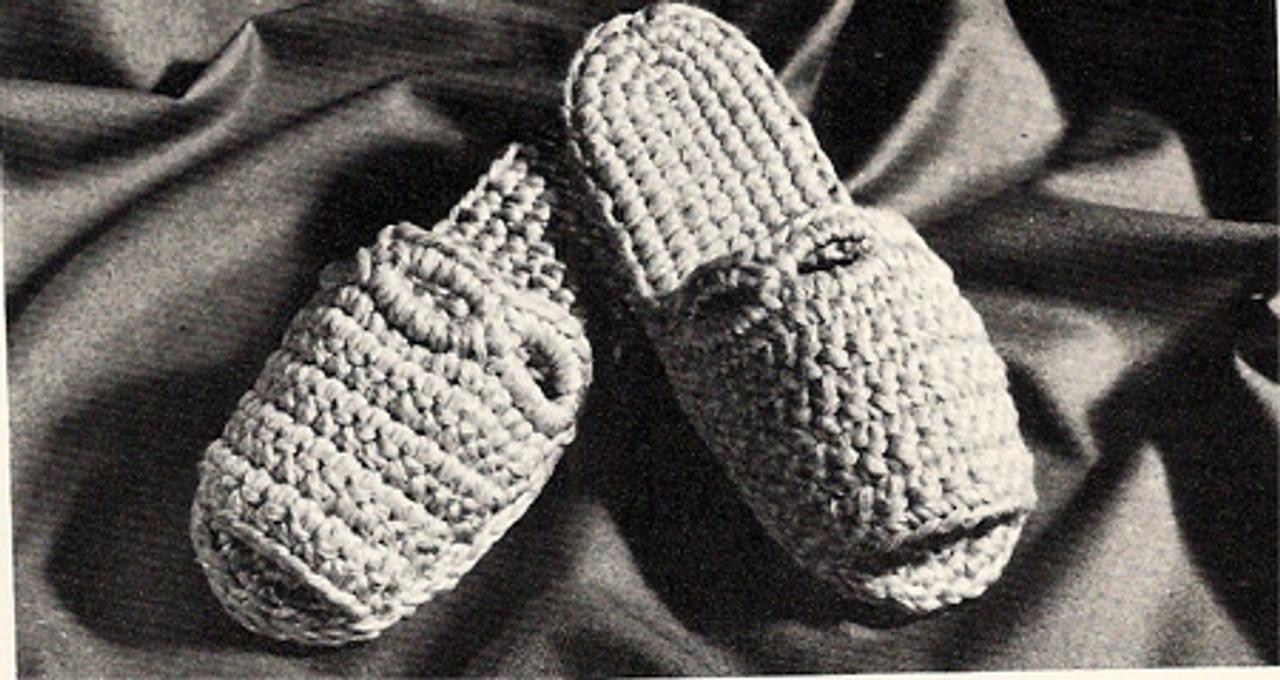 Easy Crochet Scuffs Pattern, Free Download