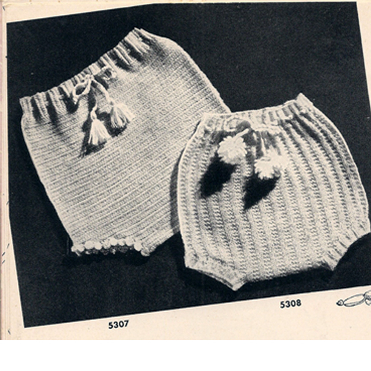 Vintage Crochet Baby Soakers