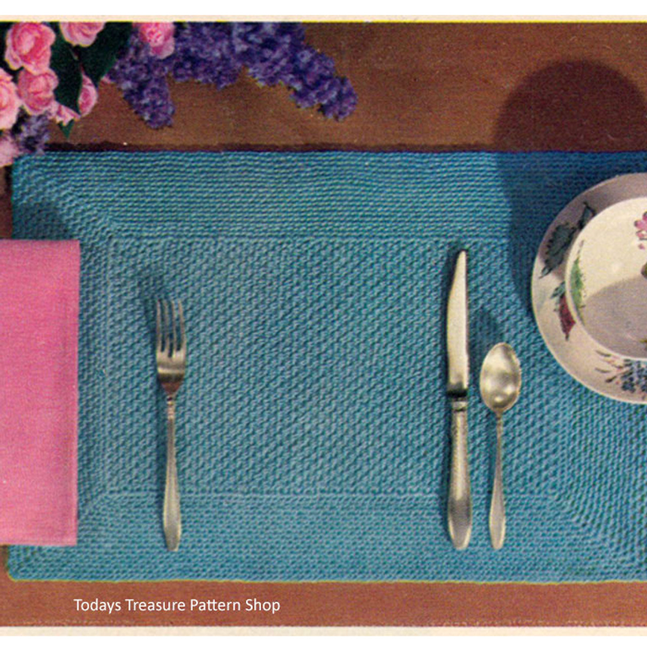 Stitch In Time Crochet Placemat Pattern