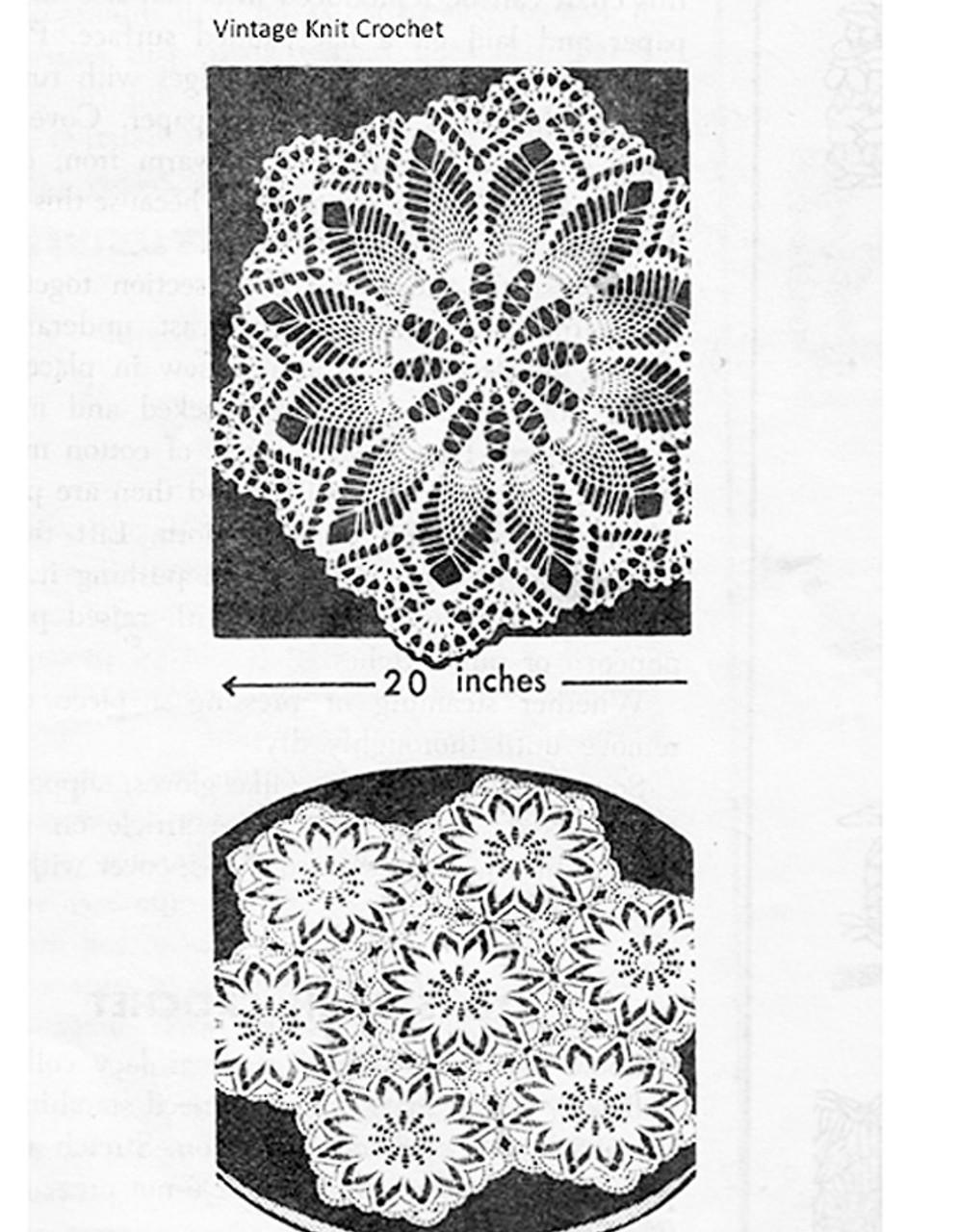 Mail Order Hexagon Doily Pattern