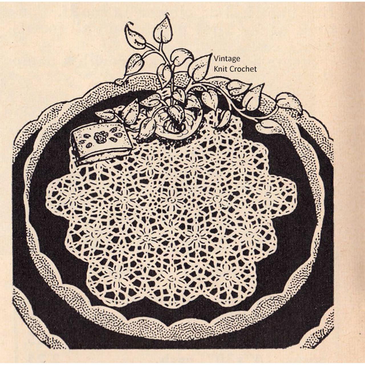 Medallion Crocheted Doily Pattern