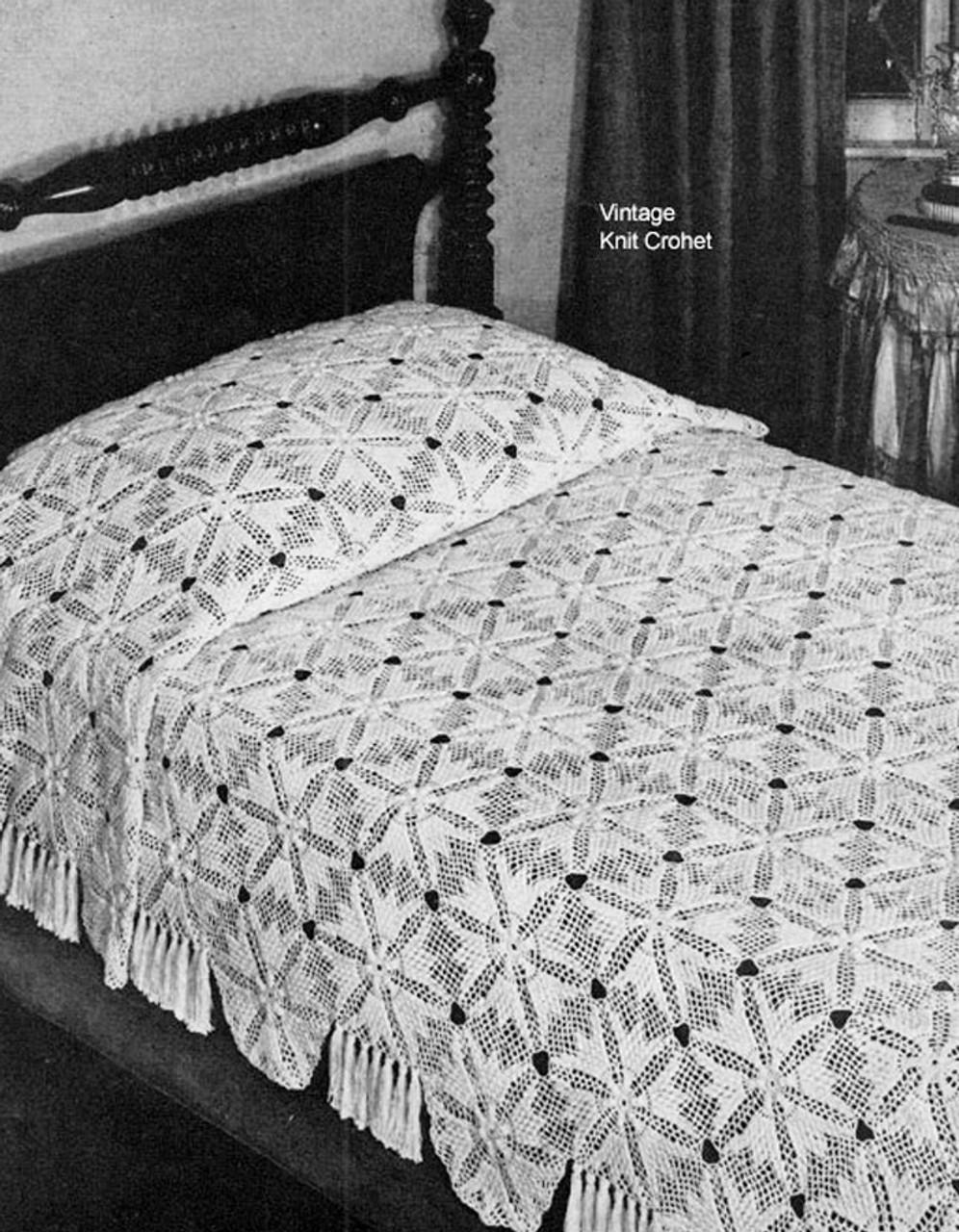Crochet Chevy Chase Bedspread pattern