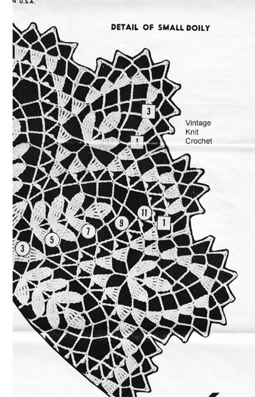 Alice Brooks Doily Pattern Illustration Design 7044