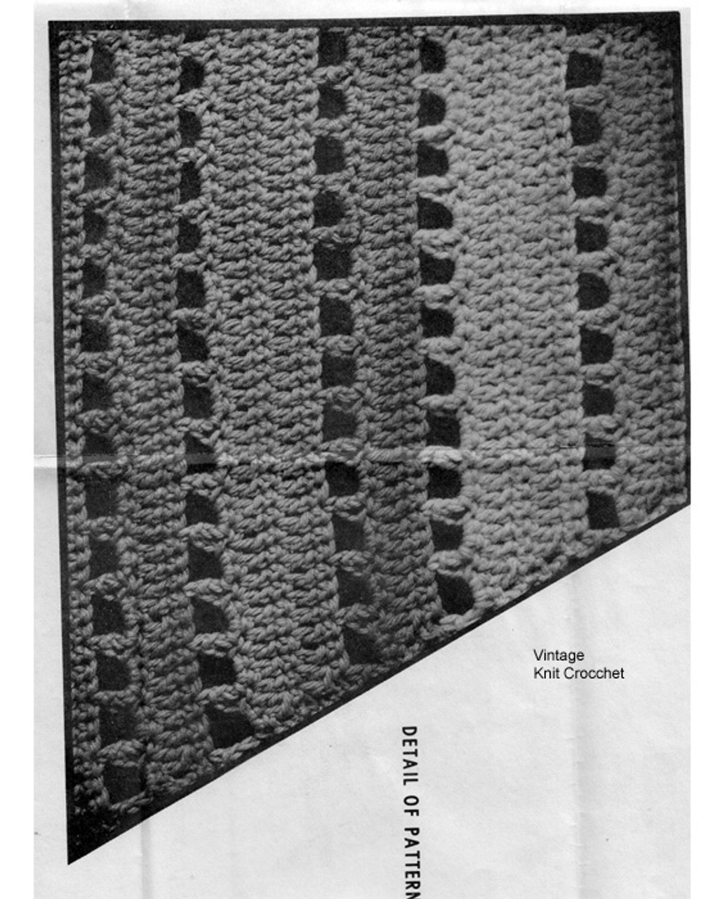 Swirl Skirt Crochet Pattern Illustration