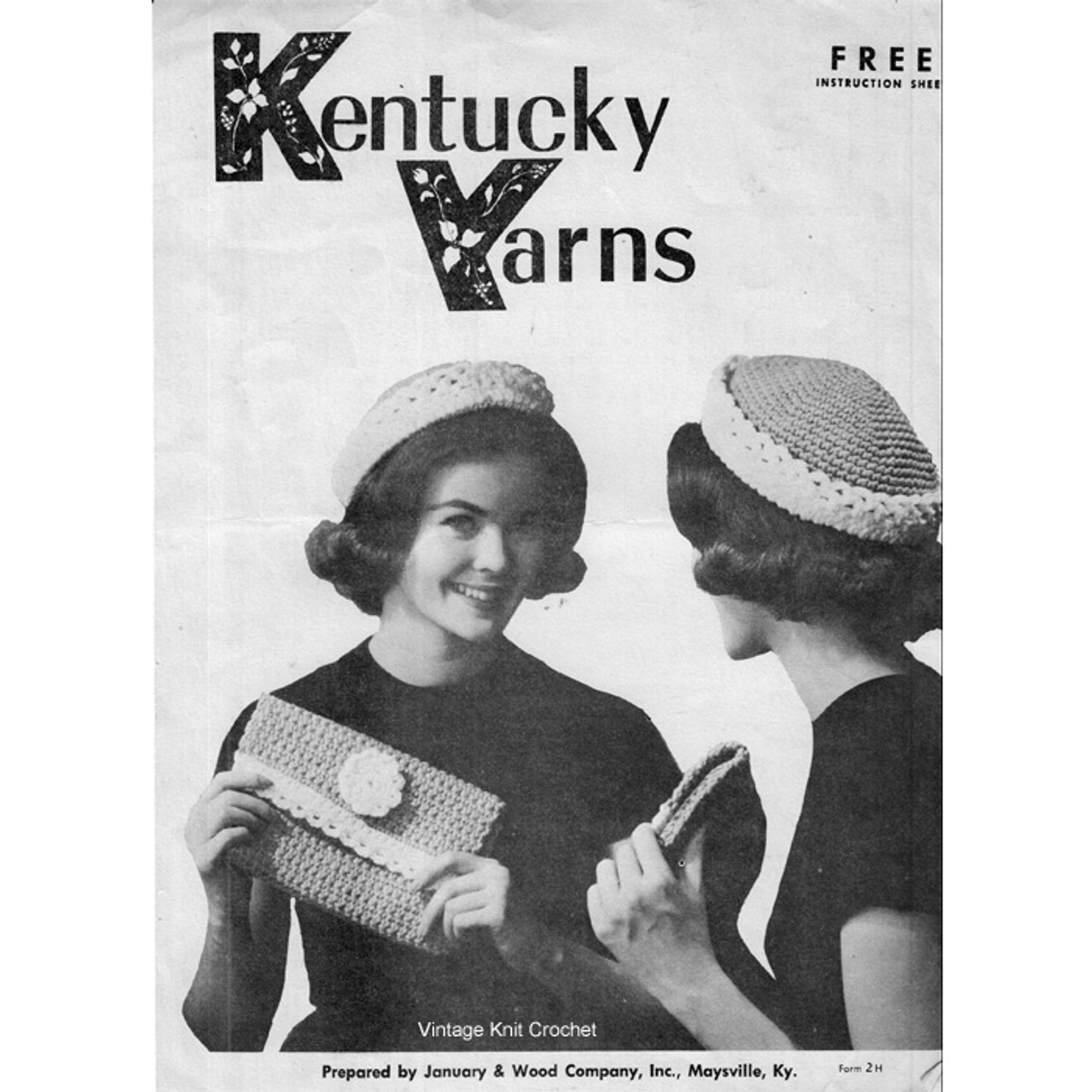 Easy Crochet Hat Bag in Heavy Rug Yarn