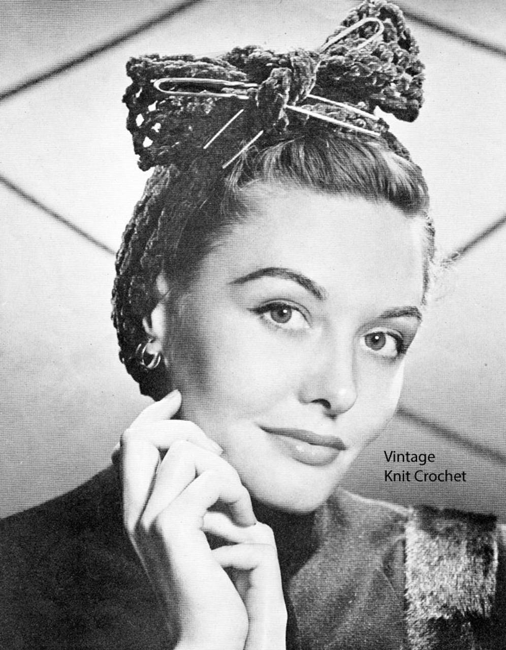 Vintage Crochet Wrap Turban Pattern