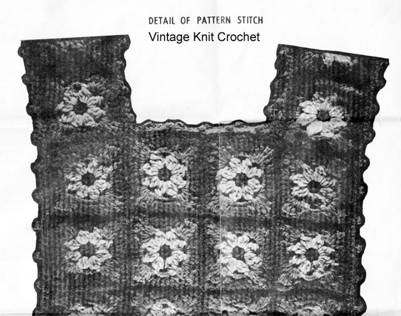Crochet Granny Square Top Design 790