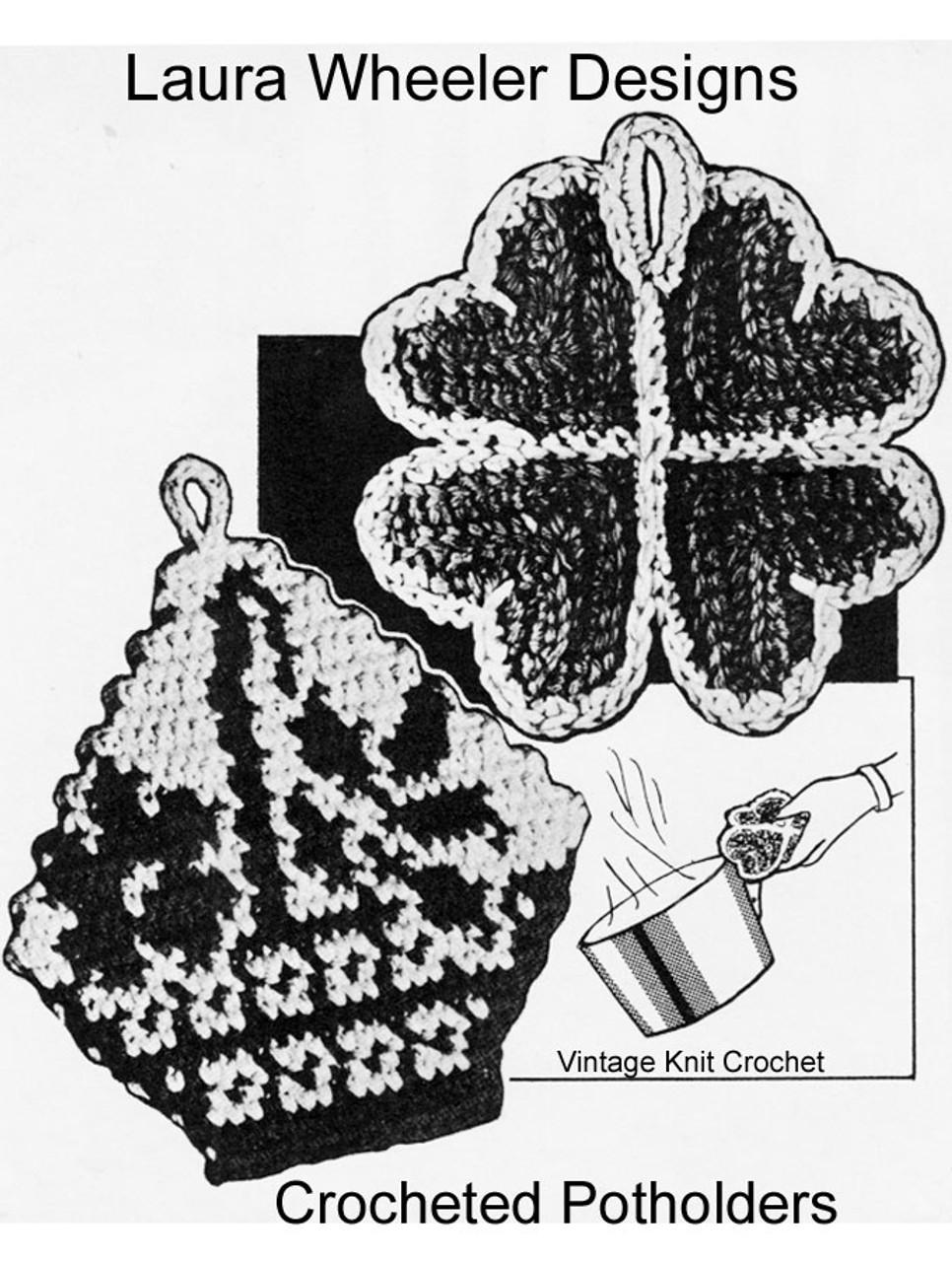Free Crochet Potholders Pattern