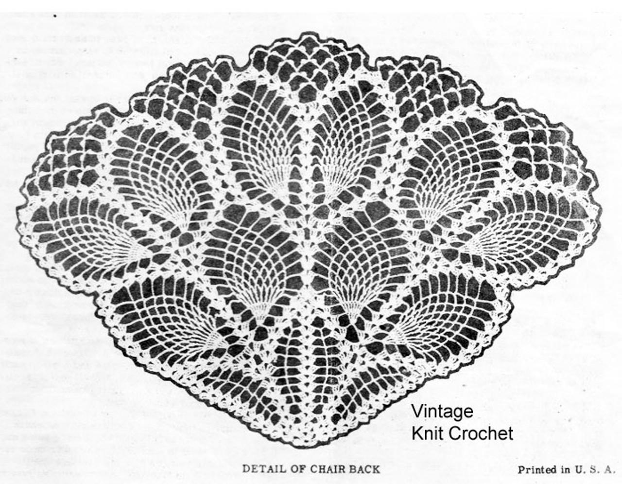 Laura Wheeler Pineapple Chair Set Illustration, Design 685