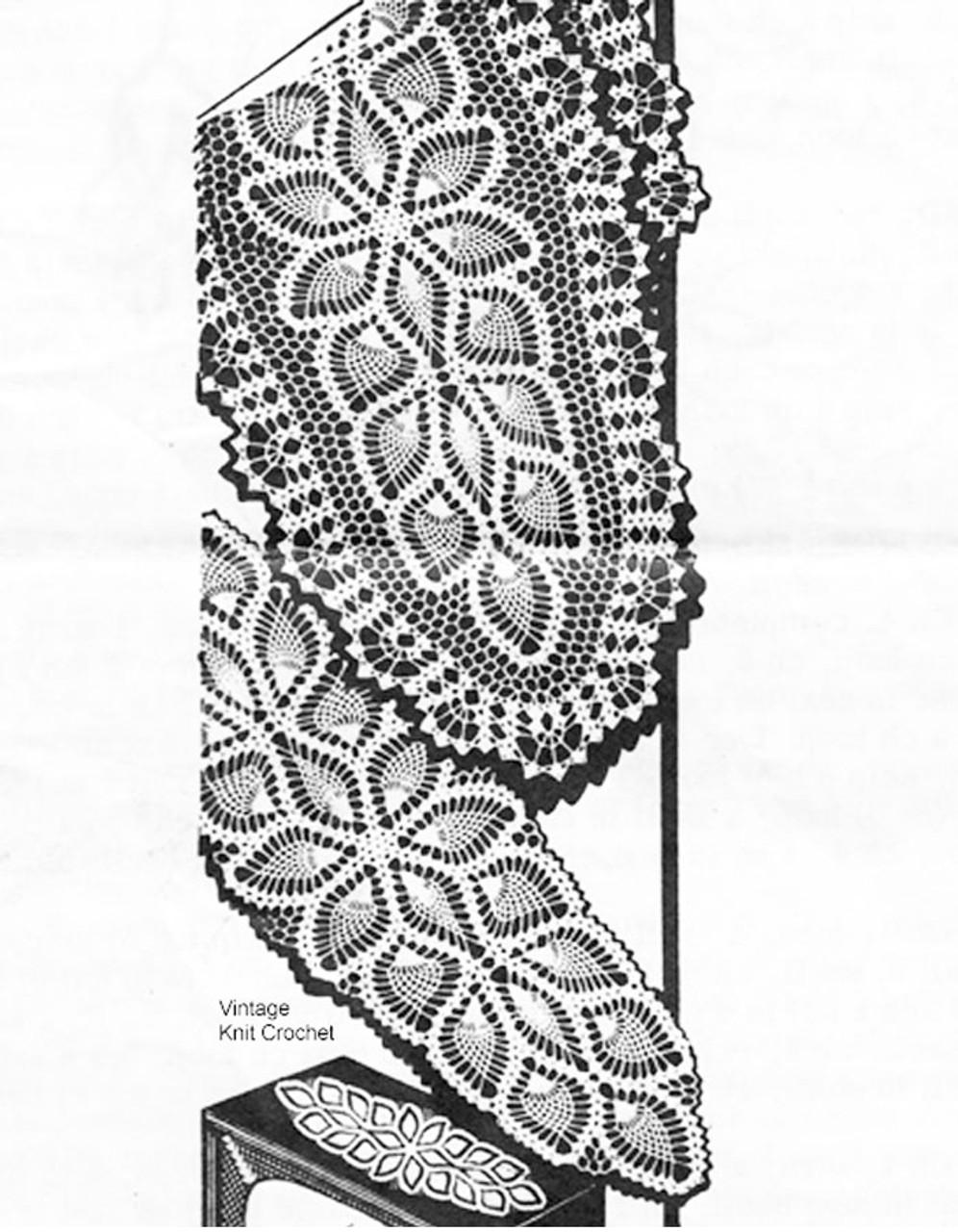 Vintage Oval Doily Pattern, Laura Wheeler 737