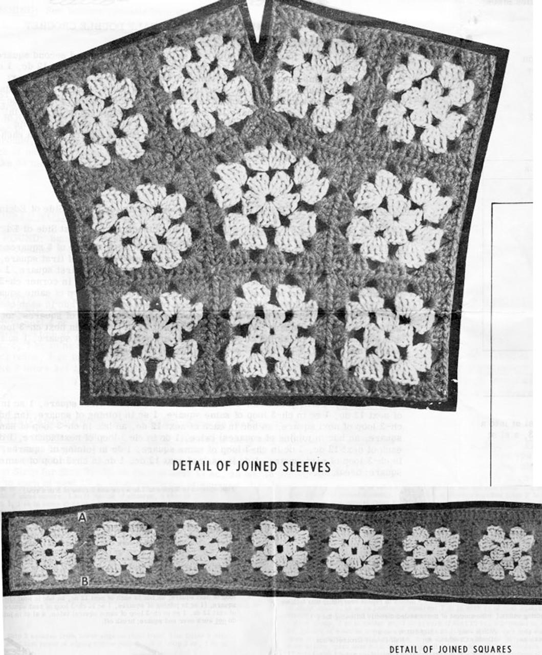 Granny Jacket Squares Illustration, Mail Order 850
