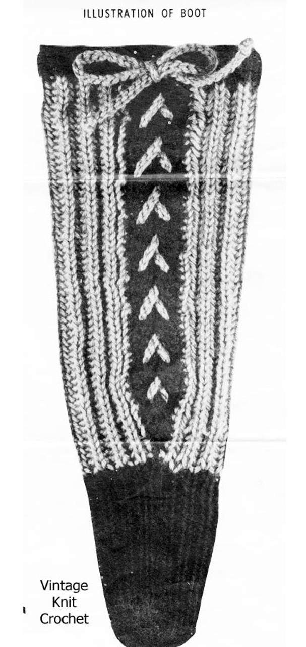 Laced Books Knitting Pattern Illustration for Design 897