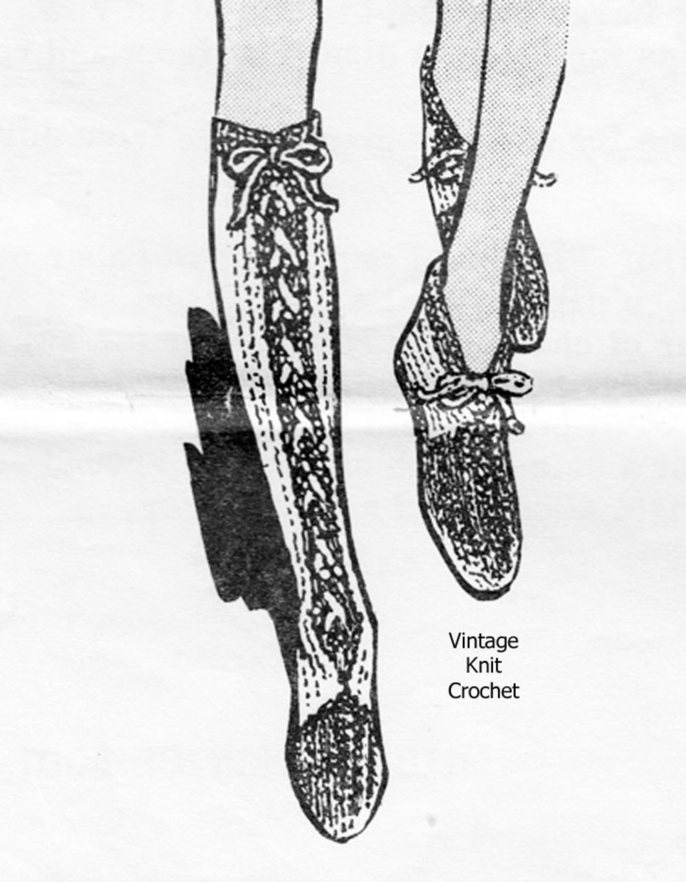 Easy Slipper Boots Knitting Pattern Design 897
