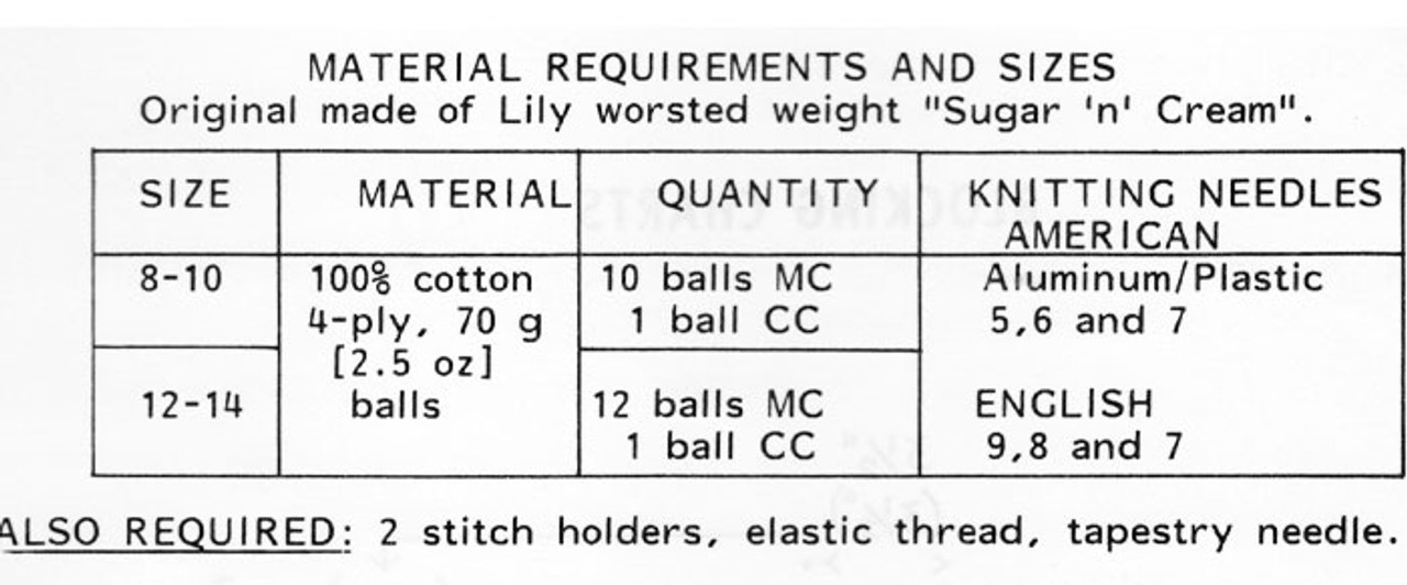 Knitted Top Shorts Pattern Design 952