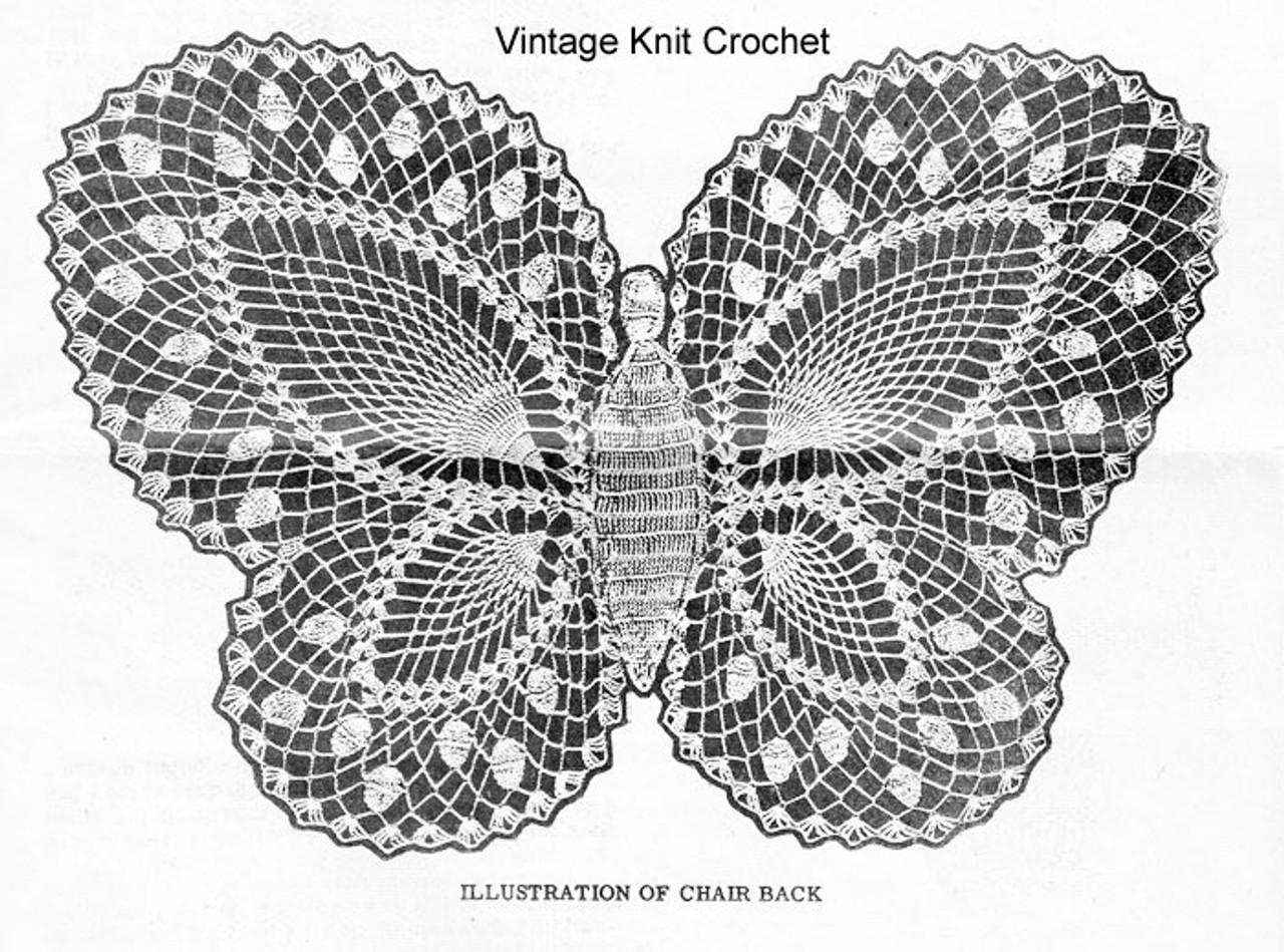 Alice Brooks 7305, Butterfly Pattern Illustration