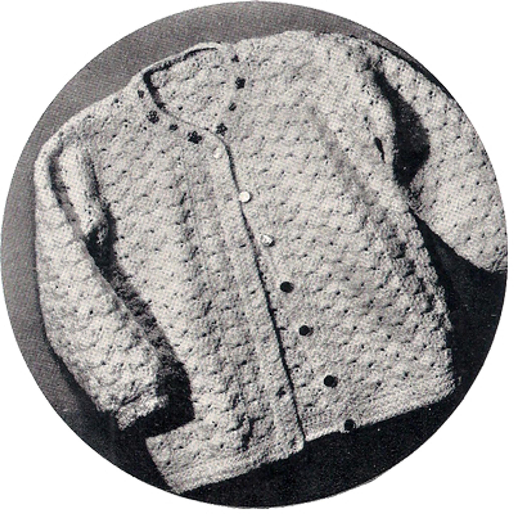 ead3f704713 ... Little Girls 3T in Shell Stitch · Toddler Crochet Jacket Pattern ...