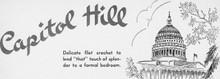 Capitol Hill Bedspread Illustration
