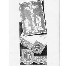 Jesus on Cross in Filet Crochet Pattern